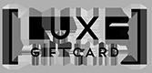 Luxe Gift Card gift voucher & Luxe Gift Card gift card.