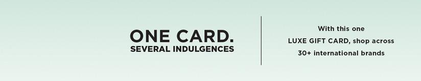 Luxe Gift Card – Emporio Armani gift voucher & Luxe Gift Card – Emporio Armani gift card