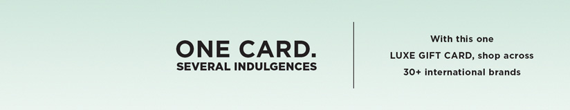 Luxe Gift Card- Superdry gift voucher & Luxe Gift Card- Superdry gift card