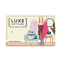 Luxe Gift Card – GAS gift voucher & Luxe Gift Card – GAS gift card