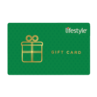 Lifestyle gift voucher & Lifestyle gift card